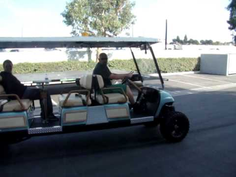 Wicked Carts 8 Seater Yamaha Lifted Limo Golf Cart 30hp