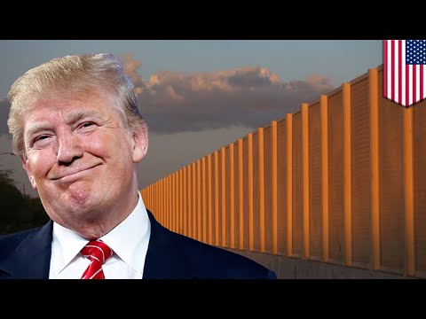 Trump border wall: Construction begins on 8 border wall prototypes in Otay Mesa - TomoNews