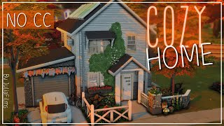 Уютный дом I Строительство I Cozy Home SpeedBuild I NO CC [The Sims 4]