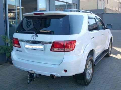 2008 TOYOTA FORTUNER 3 0 D-4D 4x2 Auto For Sale On Auto Trader South Africa