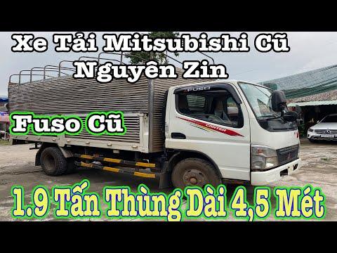 Xe Tải Cũ 1.9 Tấn Mitsubishi Thùng Dài 4.5 Mét Chuyên Chạy Thành Phố | Thế Giới Xe Cũ.