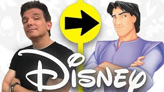 I Was ANIMATED as a DISNEY Character!