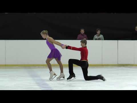 Lika Bondar/Artem Koval Odessa November 2019 Free Dance