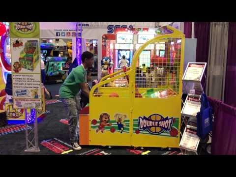 Double Shot Basketball IAAPA 2016 from Barron Games