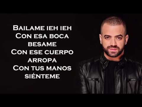 Nacho - Bailame Letra/ Lyrics HD