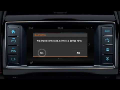 Jaguar F-PACE  | InControl Touch Bluetooth Phone Pairing Tutorial