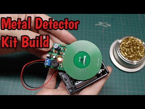 Metal Detector Kit - Assembly, Testing, and Circuit Analysis