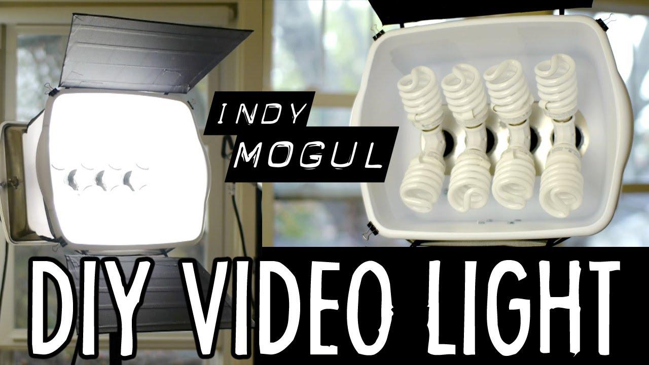 How To Powerful Diy Video Light 800 Watt Equivalent