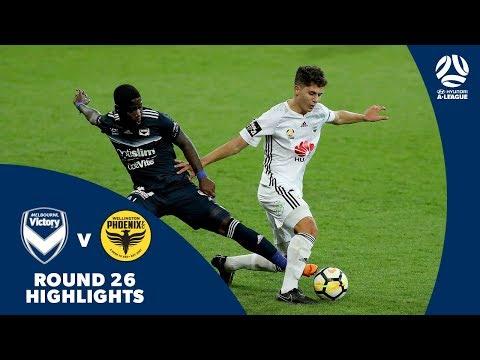 Hyundai A-League 2017/18 Round 26: Melbourne Victory 2 - 1 Wellington Phoenix