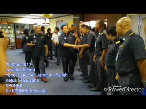 Lawatan Kerja Rasmi Ybhg. Dato ' Seri Jamil bin Salleh ke KPDNKK Kelantan.