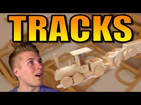 Tracks [Wooden Train Toy PC Game!] Let's Play Tracks Gameplay!