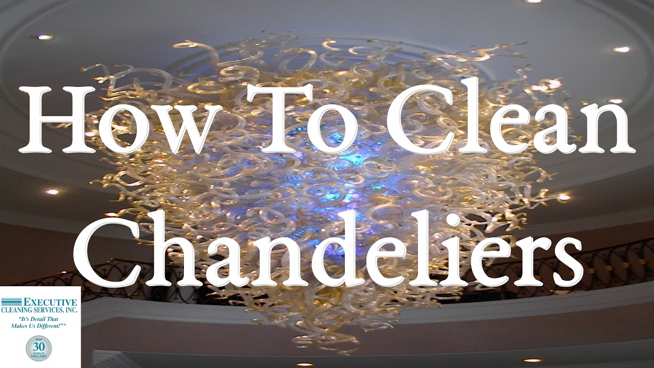 How to clean chandeliers youtube arubaitofo Images