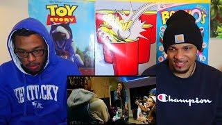 NIQUE & KING- QWAZYLOVE!!! (OFFICIAL MUSIC VIDEO)   REACTION