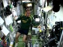 First African in Space - Springbok jersey