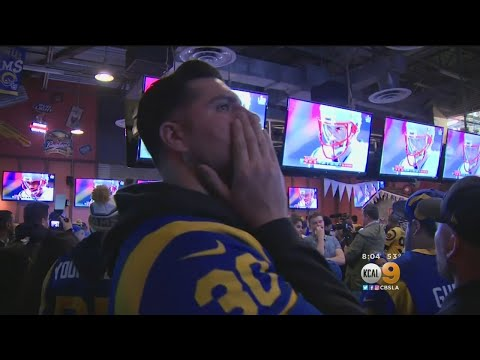 Big Heartache For Rams' Fans At Big Wang;s In North Hollywood