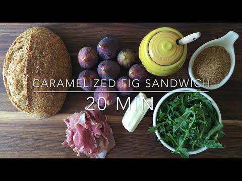 Caramelized Fig, Crispy Prosciutto & Sheep's Milk Brie Sandwich Recipe