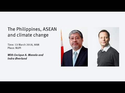 The Philippines, ASEAN and climate change