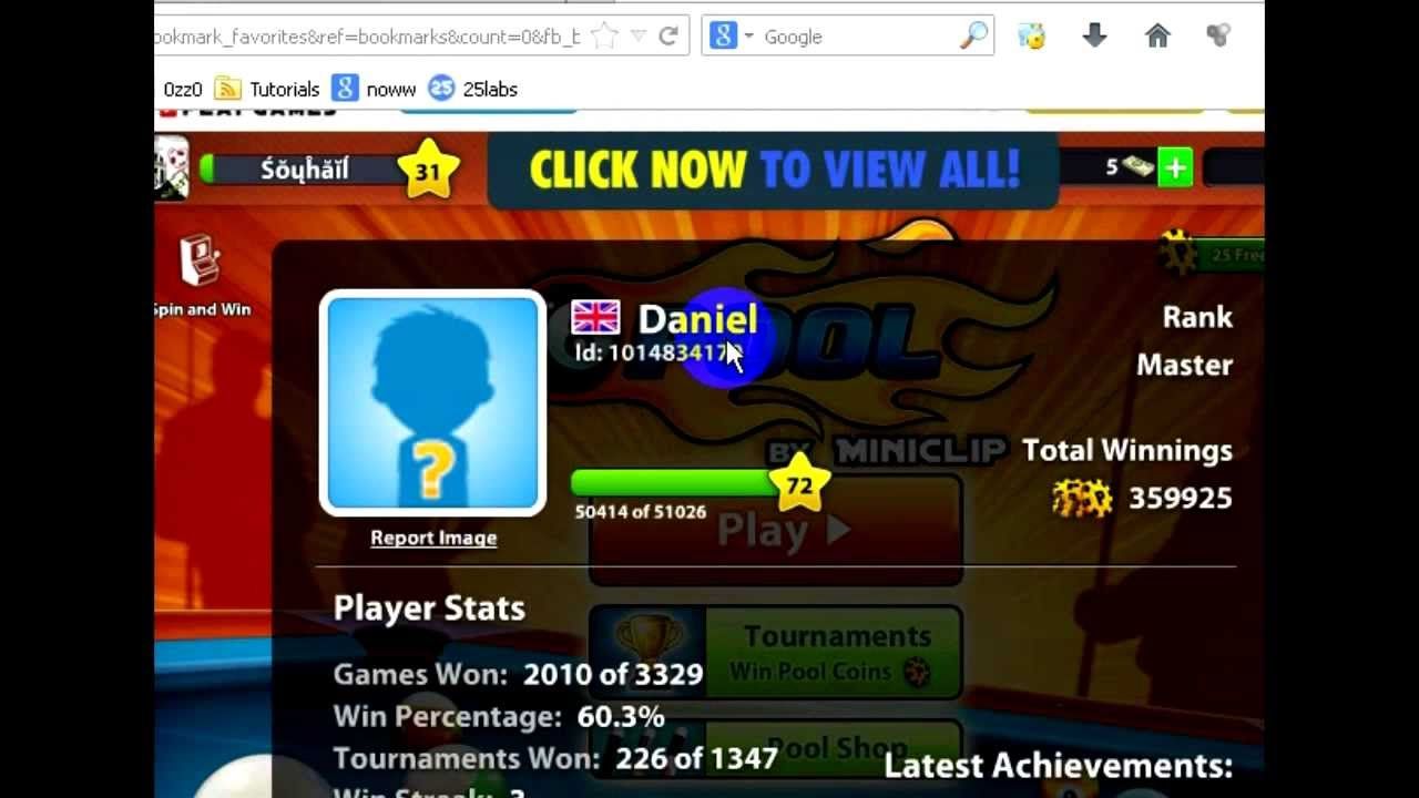 Ball Pool See 8 Any The Youtube - Trick Of Account Player
