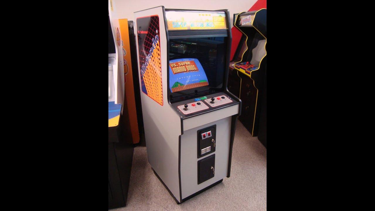 Nintendo Vs. Super Mario Bros. DEDICATED Arcade Game, True 1985 ...