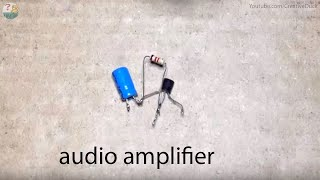 Audio Amplifier using Transistor