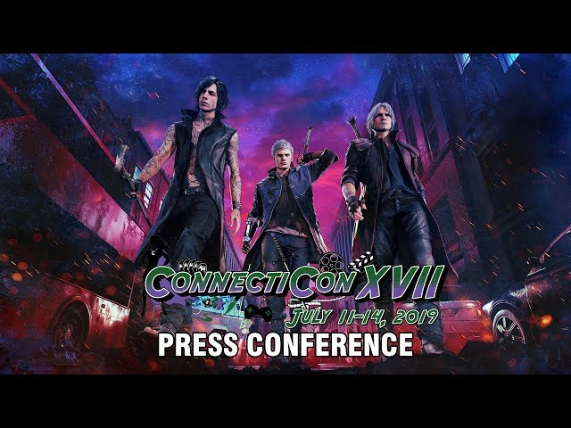 Devil May Cry 5 Press Conference | ConnectiCon 2019