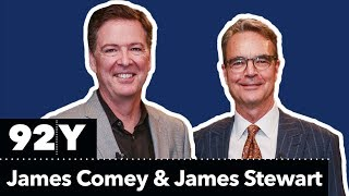James Comey in Conversation with James Stewart