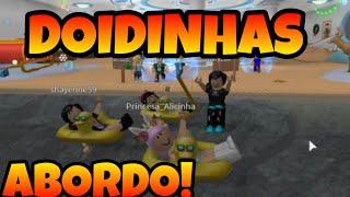ROBLOX: SQUAD of DOIDINHAS!! (Shark Bite)