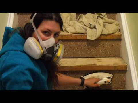 removing-asbestos-tile-using-a-clothes-iron