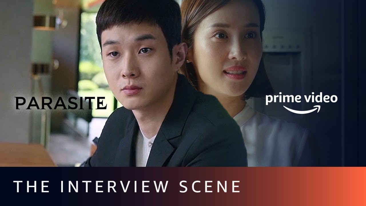 The Interview Scene | Parasite | SONG Kang Ho, LEE Sun Kyun, CHO Yeo Jeong | Amazon Prime Video