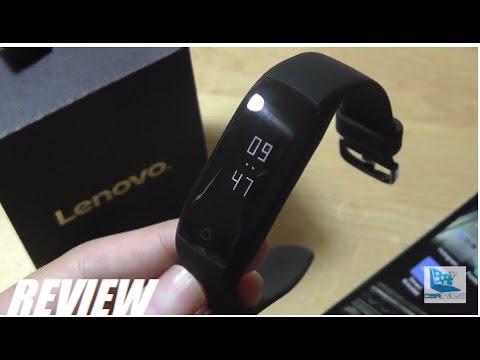 REVIEW: Lenovo HW01 Fitness Band w. HR Sensor!