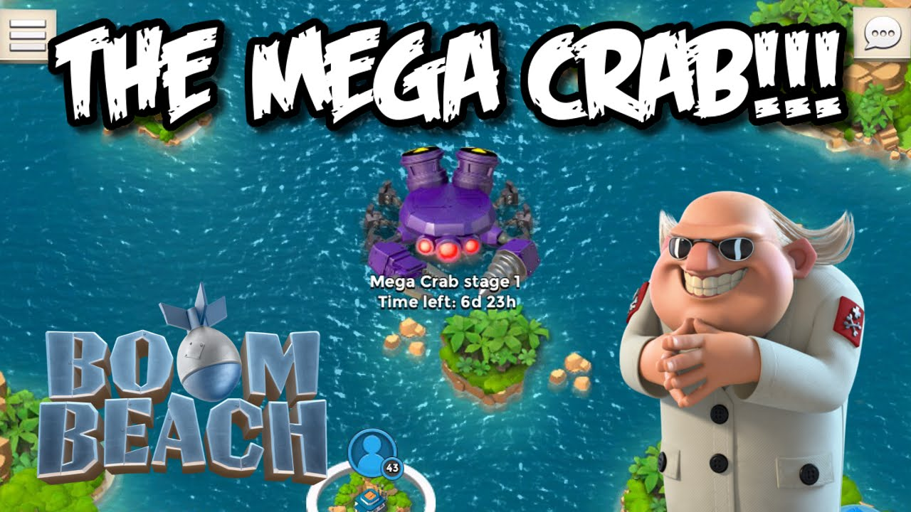 Boom Beach The Mega Crab Is Here Dr T S Event First Look Review Impressions You