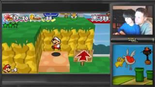 MARIO DE GRAÇA! - Paper Mario 3D Land - Gameplay em Português PT-BR