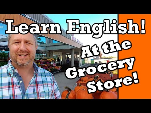 Let's Learn English At The Grocery Store (Supermarket) | English Video With Subtitles