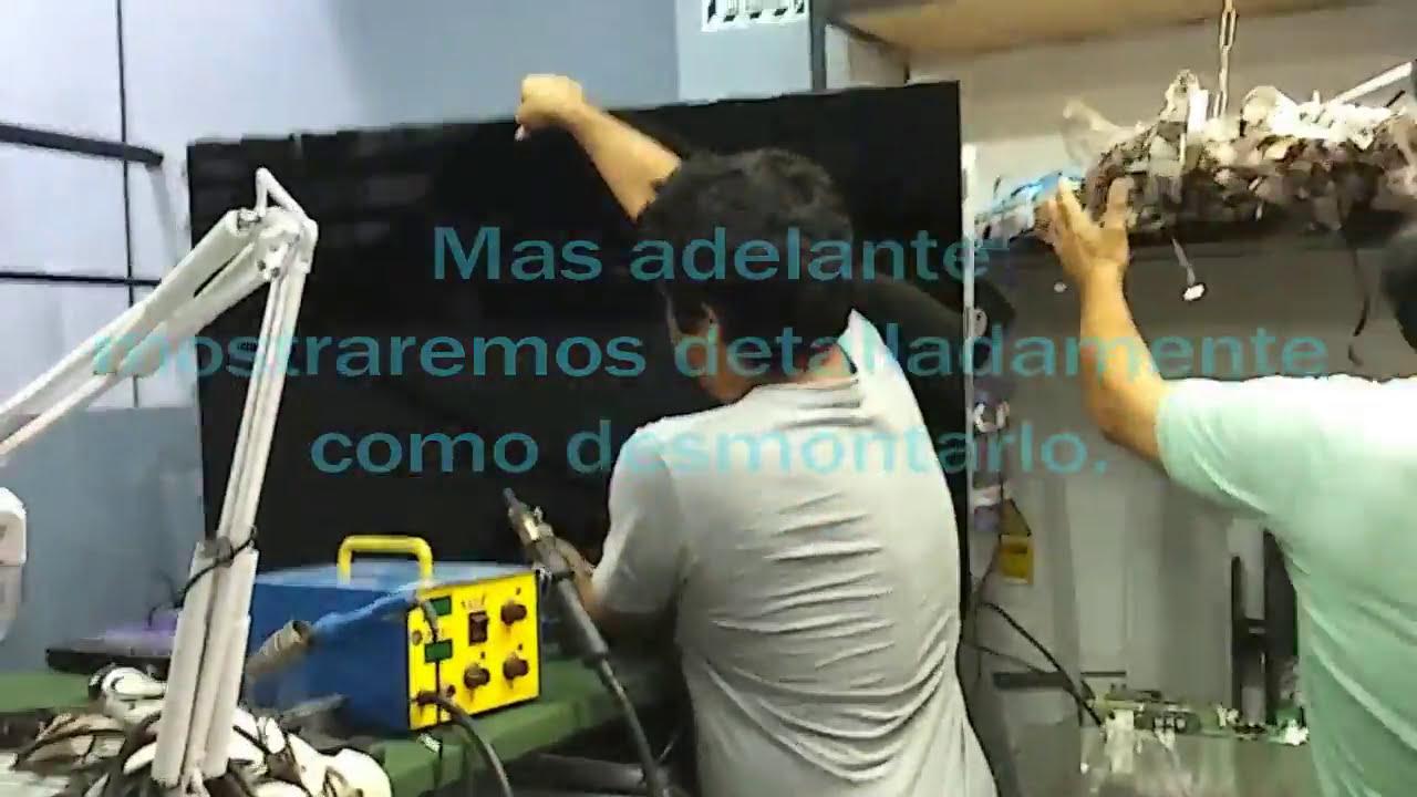 Reparar tv led samsung un55d8000 prende y se apaga youtube for Bombilla led se enciende y se apaga