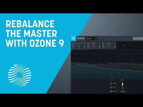 Rebalance the Master with Master Rebalance   iZotope Ozone