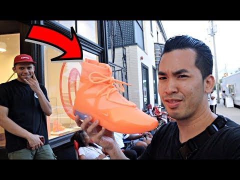 "CAMPING OUT 16 HRS NIKE FEAR OF GOD 1 ""ORANGE PULSE"""