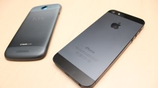 iPhone 5 vs HTC One S Comparison
