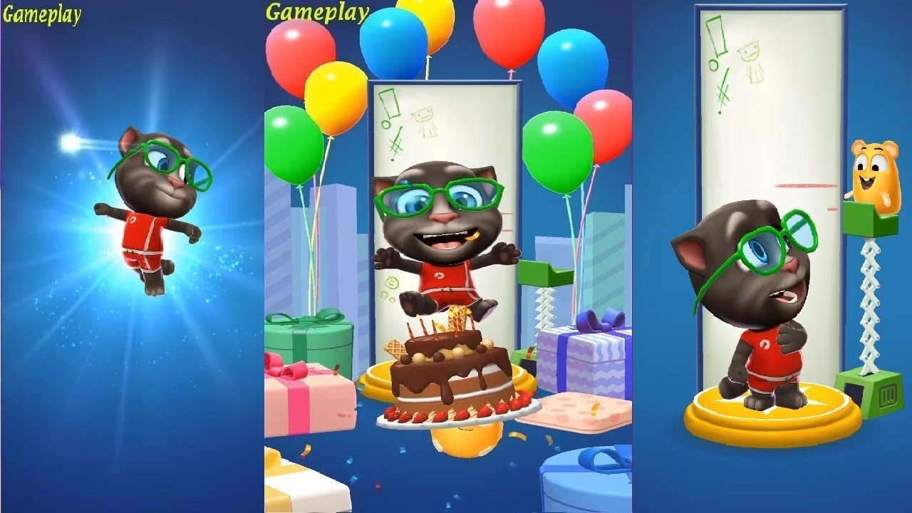 My Talking Tom and Talking Angela Gameplay Part 29 ...