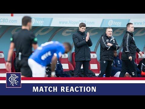 REACTION | Steven Gerrard | Hamilton 0-5 Rangers
