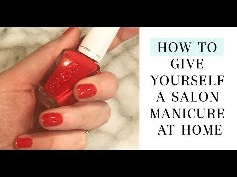 Manicure at Home - Step by Step | Salon Style Perfect Nails