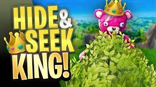 HIDE & SEEK KING in Fortnite Battle Royale