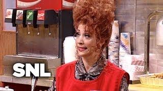 Nadeen at Burger Castle - Saturday Night Live
