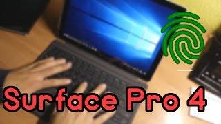 UNBOXING EPICO - Surface Pro 4 con teclado de sensor de huellas