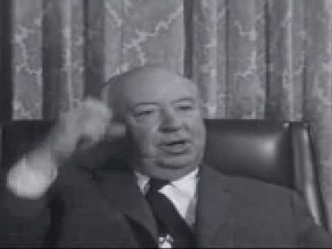 Alfred Hitchcock's 7-Minute Master Class on Film Editing
