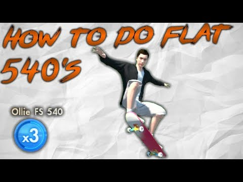 Skate 3 - How To Do Realistic Flat 540's