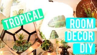 Tropical Room Decor Diy