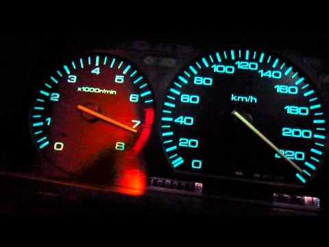 Honda Prelude III Gen H22A +210hp – by Matt (0-100km/h – 230km/h + fun)