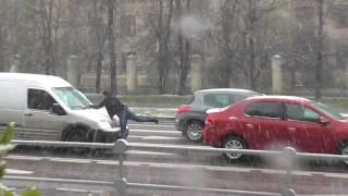 Аномальный снегопад в Москве 8 мая 2017. Скоро лето !!!)))