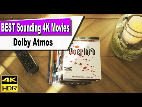 These movies will give your system a WORKOUT! | Dolby Atmos 4K Blu-ray [4K  HDR]