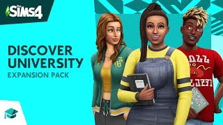THE SIMS 4 UNIWERSYTET | FIRST LOOK